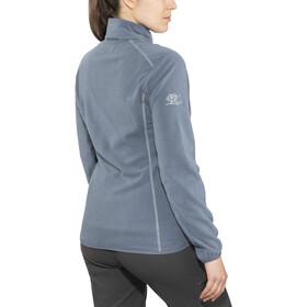 Bergans Lovund Fleece Jacket Dame fogblue/aluminium